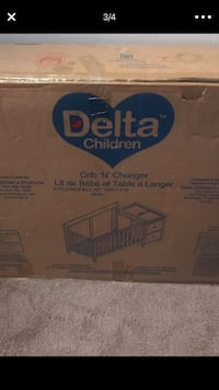4 in 1 delta baby crib Falls Church, 22042
