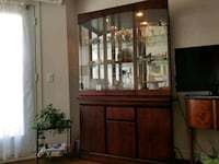 brown wooden cabinet with mirror Longueuil, J4J 5M7