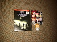 The Exorcist DVD and horror keychain Summerville