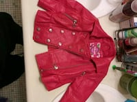 Red baby jacket 18m