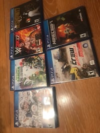 Lot of PS4 games in great condition Yakima, 98908