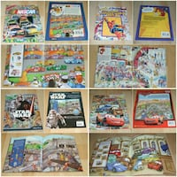 Look and Find books - paperbacks (listed and sold separately) Surrey
