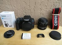 Canon EOS Rebel SL2 DSLR Camera 24.2MP Black with EF-S 18-55mm IS STM