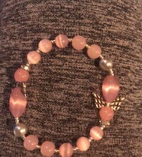 Pink moonstone stretch bracelets  Baltimore, 21213