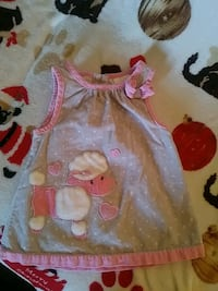 Poodle dress 3-6 months brand new 2167 mi