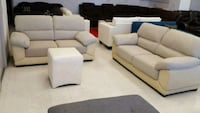 white fabric 3-piece sofa set Calgary, T3J 0C3