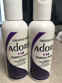 2 bottles (new) violet hair dye (semi perm) Eugene, 97401