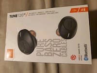 Brand new jbl tune 120 wireless earbuds  Toronto, M9C 1R1