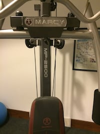 Grey and red Marcy MP-2500 exercise equipment Fitchburg, 53711