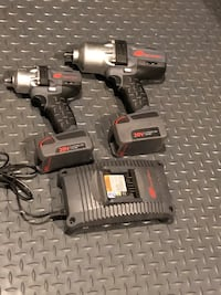 "Ingersol rand cordless impacts 1/2"" 1200 ft lbs and 3/8"" 250 ft lbs sold together Sherwood Park, T8H 0K4"