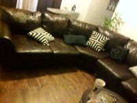 Leather sectional taking offers El Paso, 79935