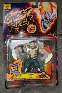 New in Box Ghost Rider Skinner Figure Hollywood, 33021