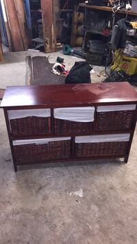 Brown and black wooden cabinet Pensacola, 32526