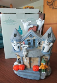 Partylite Haunted Tealight House--NEW Derby