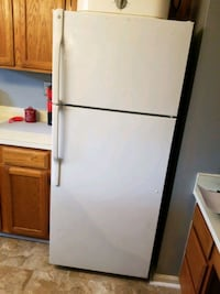 Refrigerator, Gas Stove,  Dishwasher (ALL GE) and Magic Chef Microwav
