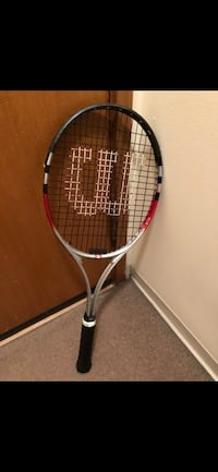 silver, black, and red Wilson tennis racket Vancouver, V6E 1Y4