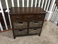 Brown Storage Table/ Entryway Piece Lake Forest, 92630