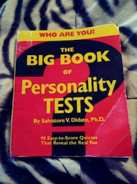WHO ARE YOU? THE BIG BOOK OF PERSONALITY TESTS.  Warner Robins, 31088