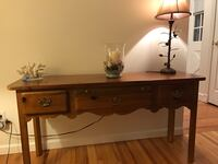 Thomasville Replicas Collection - Brown wooden table Brookhaven, 11733