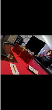 Premium poker table, custom chips, copag card sets , and more