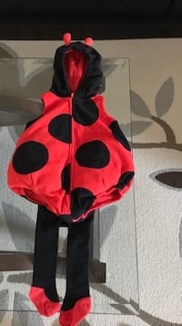 3-6 Month Old Lady Bug Costume-Excellent Condition  Ottawa, K4A 0R3