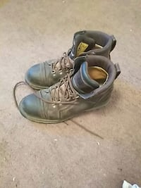 pair of brown leather work boots Lodi, 95240
