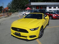 2017 Ford Mustang 2017 Ford Mustang - 2dr Conv EcoBoost Premium langley