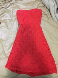 Strapless dress size small Woodstock, N4S 3L6