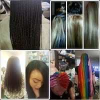 Weaving and braiding hair extensions  Edmonton
