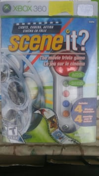 Scene it movie trivia game. xbox 360