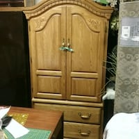 SOLID OAK WOOD -4 pc Bedroom Set- GOLDEN OAK Saskatoon, S7J 1X2