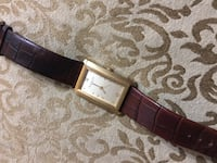 KENNETH COLE FABULOUS GOLD PLATED SNAKESKIN WATCH! Water resistant super cool! Edmonton, T5T