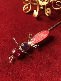 Sterling silver hat pin