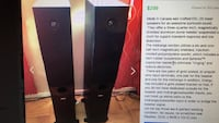 Energy tower speakers EXL-25 American Canyon, 94503