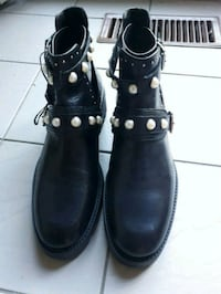Zara Size 9 Leather Ankle Boots *New with Tags* Mississauga, L5R 3L2