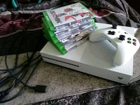 Xbox one console(new) Controller + 5 games Leesburg, 20176