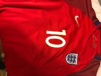 red and white Adidas jersey Greenwich, 06831