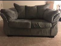 2 piece charcoal  loves seat and sofa  Baltimore, 21218