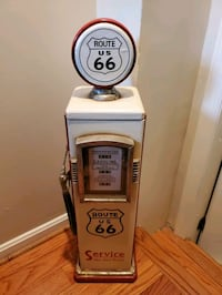 Antique Route 66 gas pump CD holder Burke, 22015
