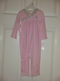3 Girl Ralph Lauren Polo outfits size 9m