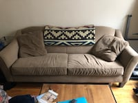 Brown Couch New York, 10027