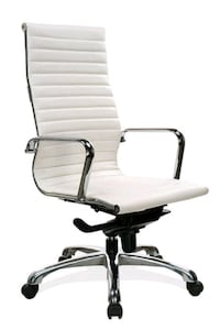 *Brand New* White Leather Executive Chair  Norfolk, 23502