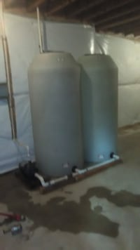 300 lbs Water storage tanks each tank 42 km