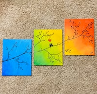 "Canvas painting 3* 8""*10"".."