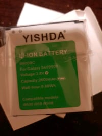 2 brand new battery for a galaxy s4