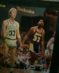 Lakers and celtic  plaque Reading