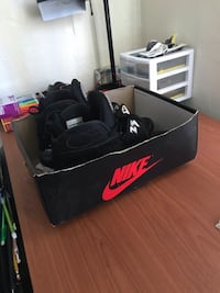 black and red Nike basketball shoes West Palm Beach, 33407