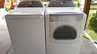Whirlpool  cabrio super large capacity washer and electric  dryer set good condition Temecula