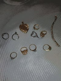 Women rings size 6-7 and 8. Some with diamonds and Lakewood Township, 08701