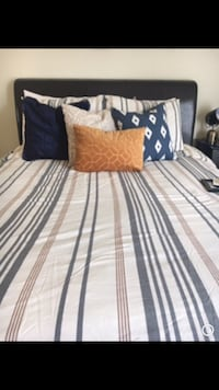 Striped queen size duvet cover New Orleans